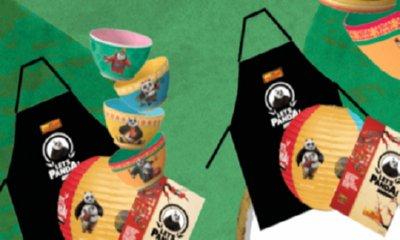 Free Panda Lantern & Apron