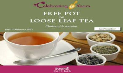 Free Pot of Loose Leaf Tea