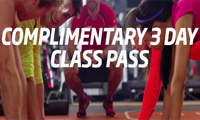 Free 3 Day Class Pass for Fitness First