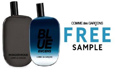 Free Comme des Garcons Sample