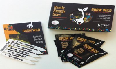 Free Grow Wild Seed Packet