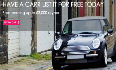 Get Paid To Rent Your Car – £250 A Month or More