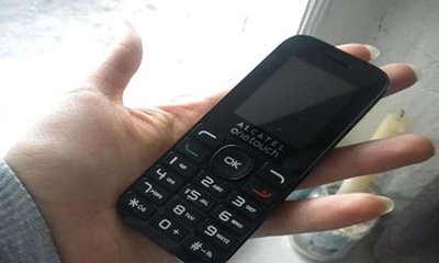 Free Alcatel Pay As You Go Mobile Phone