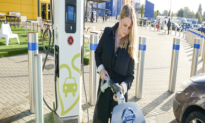 Free Electric Car Charging at Ikea