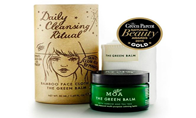 Free MOA Cleansing Balm & Face Cloth