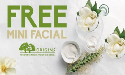 Free Origins 'Feel-Good' Mini Facial