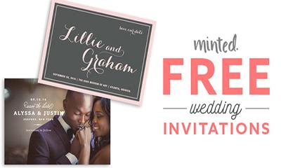 Free Sample of Wedding Invitations