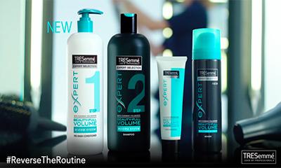 Free TRESemme Shampoo
