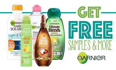 Garnier samples arriving – sweet surprises.
