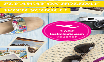Fly Away on Holiday with Scholl