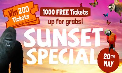 Free Bristol Zoo Tickets