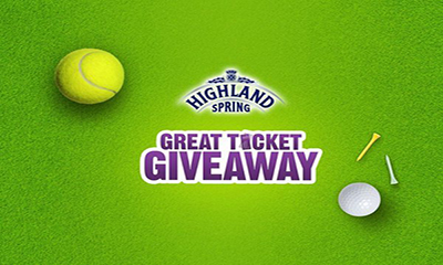 Free Golf or Tennis Tickets