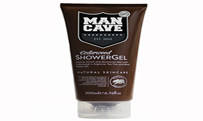 Free ManCave Cedarwood Shower Gel