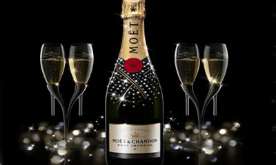 Free Moet Champagne