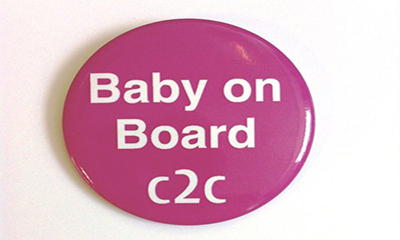 Free Baby on Board Badge from C2C