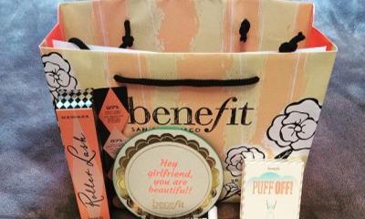 Free Benefit Goody Bag