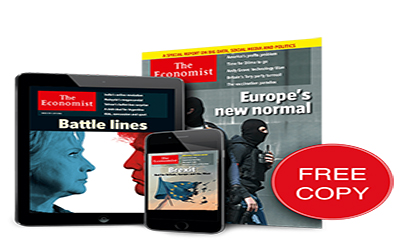 Free Copy of The Economist Magazine – BREXIT SPECIAL!