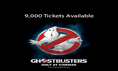 Free Ghostbusters Cinema Tickets