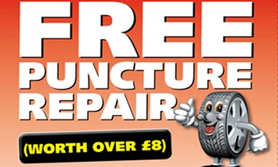 Free Puncture Repair