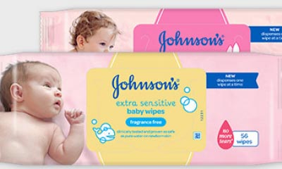 Win a Year's Supply of JOHNSONS Baby Wipes