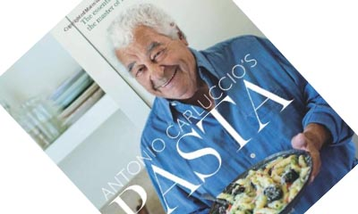Free Antonio Carluccio Pasta Recipe Book
