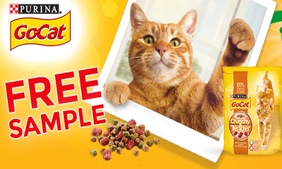 Free Go-Cat Crunchy & Tender Cat Food