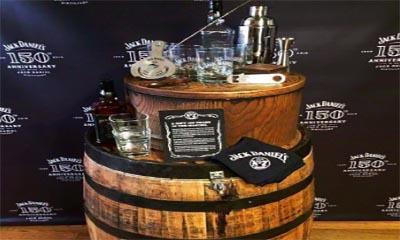 Free Jack Daniels Whiskey Barrel