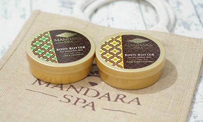 Free Mandara Spa Mango and Coconut Body Butter