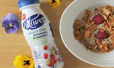 Free Optiwell Yogurt Drink