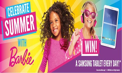 Free Samsung Tablets from Barbie