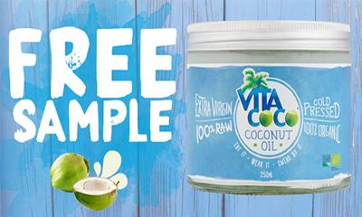 Free Vita Coconut Oil Samples