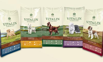 Free Vitalin Puppy Food, Clicker & Keyring