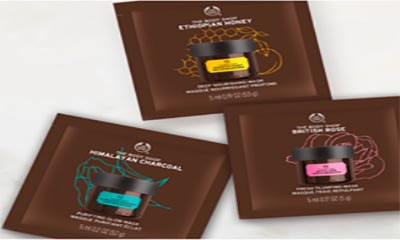 Free Body Shop Face Mask