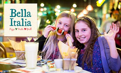 Free Kids Meal at Bella Italia