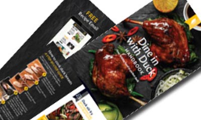Free Recipe Booklet from Gressingham Duck