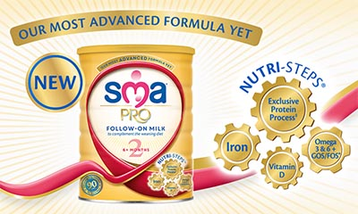 Free SMA PRO Follow-on Milk