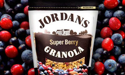 Free Super Berry Granola from Jordans