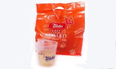 Free Tilda Basmati Rice & Rice Scoop