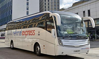 £1 National Express Bus Sale (+£1 booking fee)