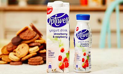 Free Bottle of Optiwell Yogurt Drink