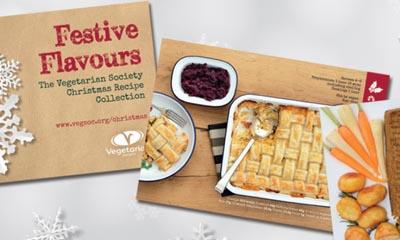 Free Christmas Vegetarian Recipe Book