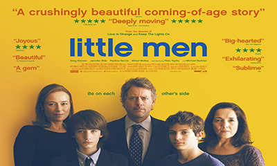 Free Cinema Tickets to see Little Men