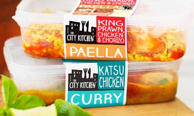 Free City Kitchen Ready Meals