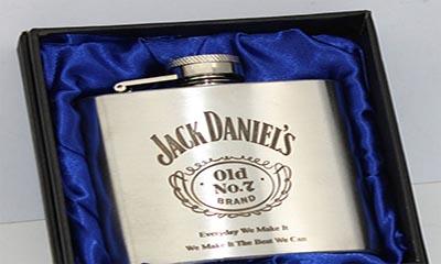 Free Jack Daniels Hip Flask