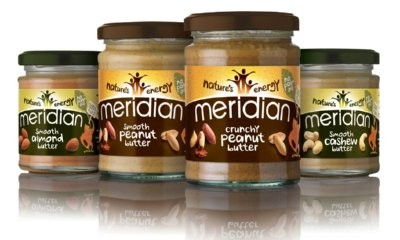 Free Jars of Meridian Nut Butters & Recipe Books