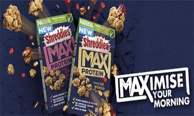 Free Pack of Shreddies MAX Protein