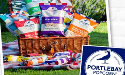 Win a Gourmet Box of Portlebay Popcorn