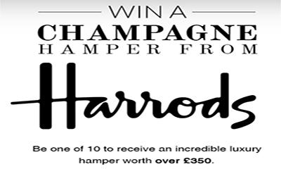 Win a Harrods Champagne Hamper