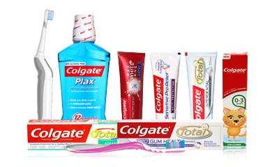 Free Colgate, Sanex and Palmolive Products