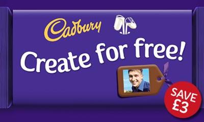 Free Dairy Milk Chocolate Personalisation